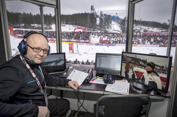 Tapio Suominen aloitti työt Ylessä jo 1980-luvulla.