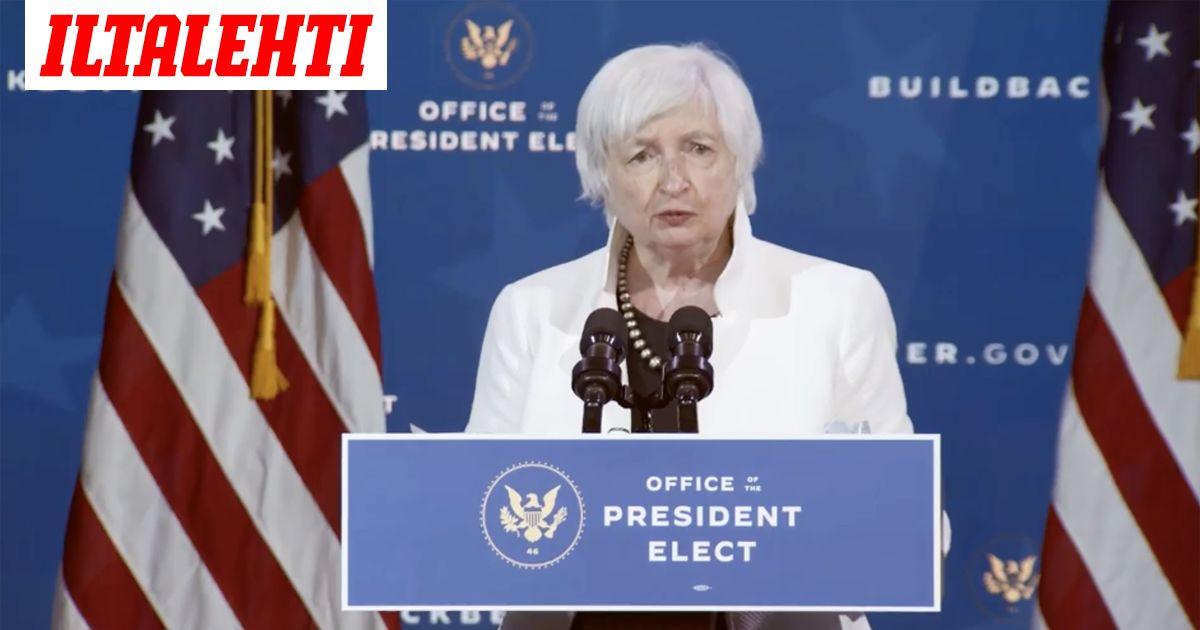 Bidenin tuleva valtiovarainministeri tienannut miljoonia puheillaan Wall Streetin...