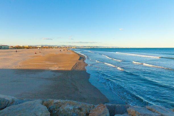 Valenciassa on pitkä rannikko, joten puitteet rantalomalle ovat otolliset.