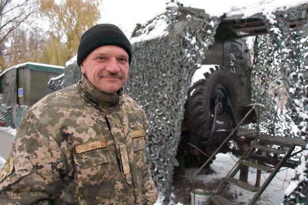 Mobiilin sotasairaalan johtaja Volodomir Knjagitskii on tyytyväinen sairaalan toimintaedellytyksiin.
