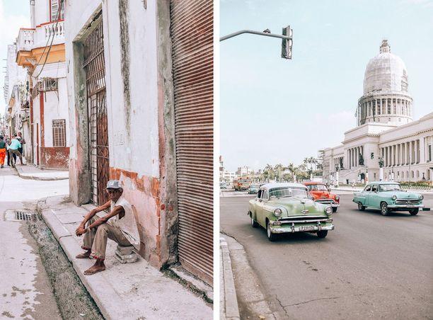 Kuuban tunnelmassa on hurmaavaa räjkäisyyttä.