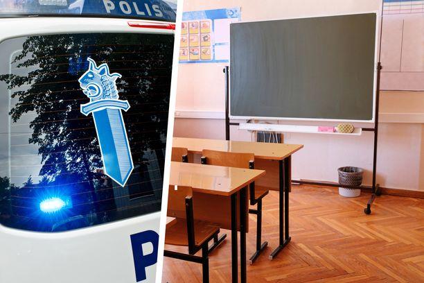 Itä-Uudenmaan poliisin mukaan koulu-uhkauksia tehdään eniten yläkouluihin.