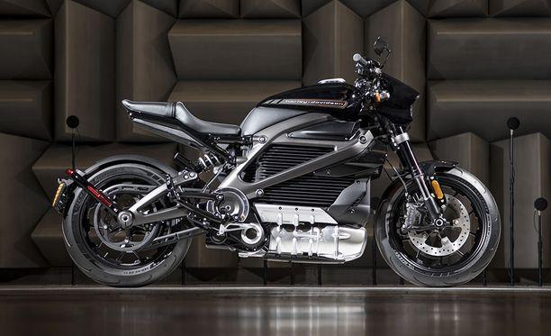 Harley-Davidsonin ensimmäinen sähköpyörä näyttää tältä. LiveWire-nimisen mallisen teknisiä tietoja ei ole vielä kerrottu.
