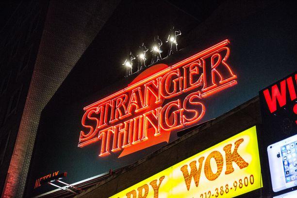 Stranger Things kuuluu tämän hetken suosituimpiin televisiosarjoihin.