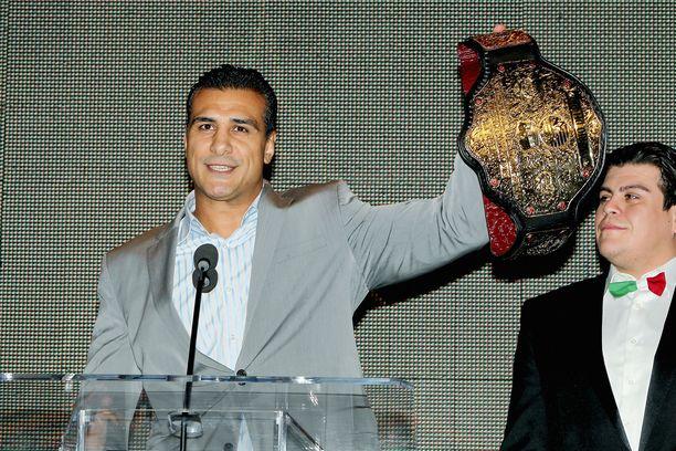 Alberto Del Rio esitteli mestaruusvyötä vuonna 2013.