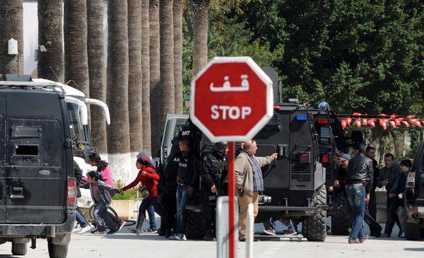 Museosta evakuoitiin lapsia, kun panttivankitilanne alkoi.