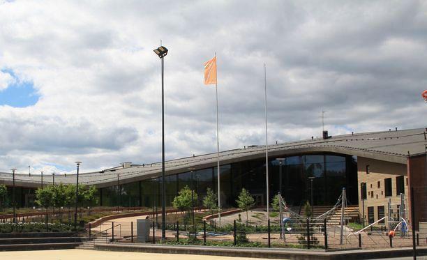 Espoolaisessa Saunalahden koulussa on noin 800 oppilasta.