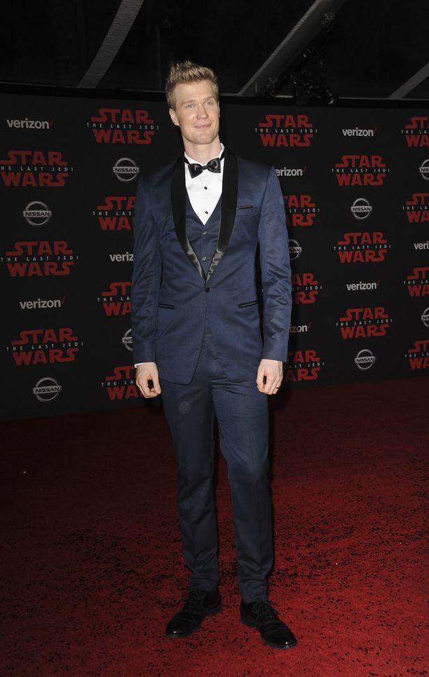 Joonas Suotamo nähdään uusimmassa Star Wars -elokuvassa.
