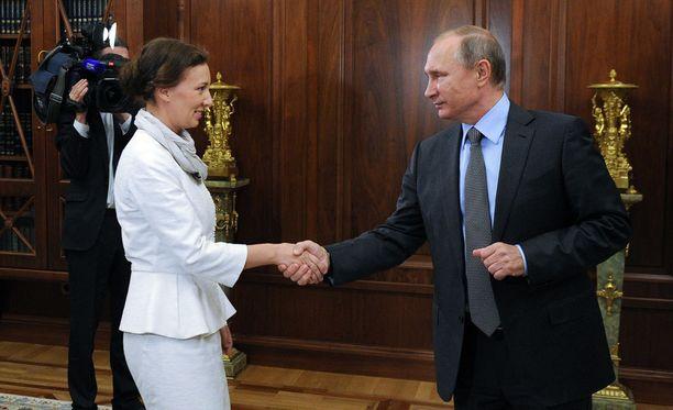Venäjän presidentti Vladimir Putin nimesi Anna Kuznetsovan uudeksi lapsiasiavaltuutetuksi.