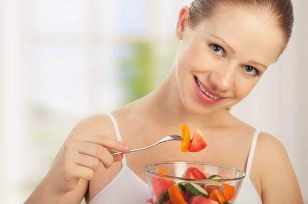 Kasvikset ovat hyvää syötävää terveyden kannalta katsottuna.