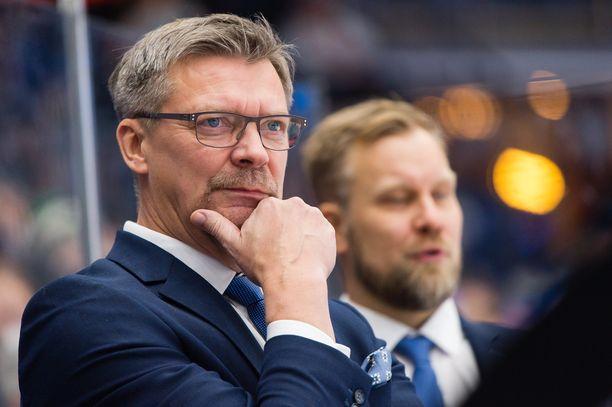 Leijonien päävalmentaja Jukka Jalonen valmistaa joukkuettaan 10. toukokuuta alkaviin MM-kisoihin.