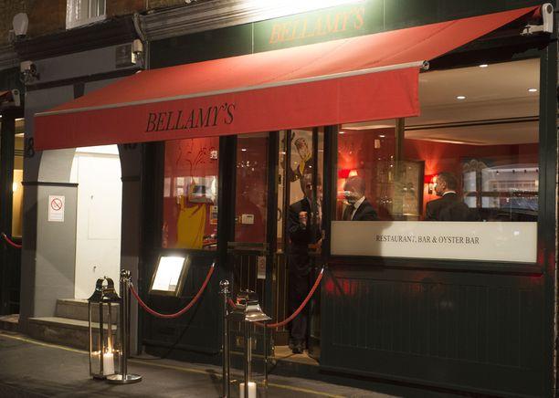 Bellamy's on palkittu ravintola.