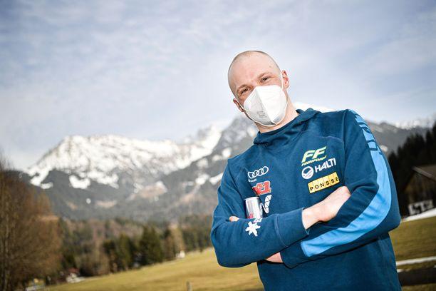 Iivo Niskanen valmistautui tulevaan hiihtokauteen Italiassa.
