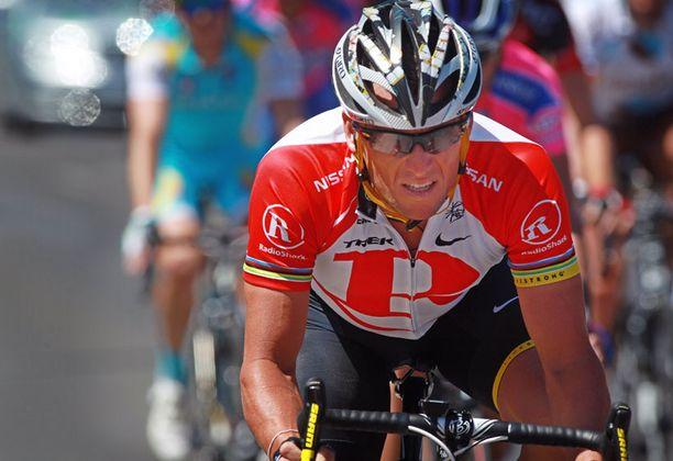 Lance Armstrong ajoi viimeisen kisansa.
