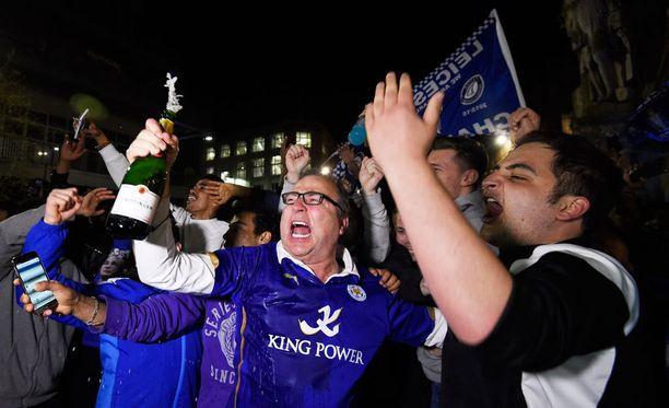 Leicesterin faneilla on menossa juhlaviikot.