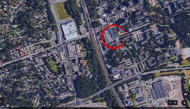 Välikohtaus tapahtui Koivukylässä Vantaan pohjoispuolella.