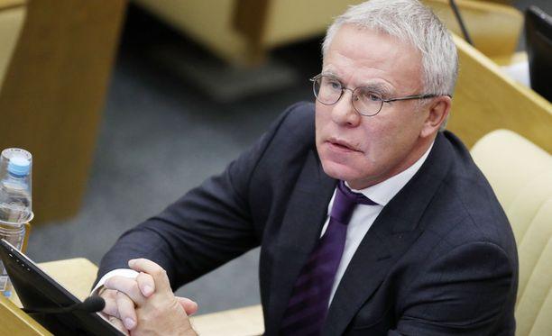 Puolustajalegenda Vjatsheslav Fetisov istuu nykyään Venäjän parlamentissa.