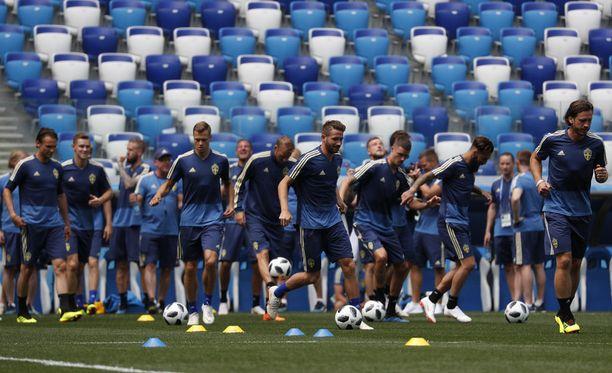 Ruotsi aloittaa MM-kisaurakkansa Etelä-Koreaa vastaan.