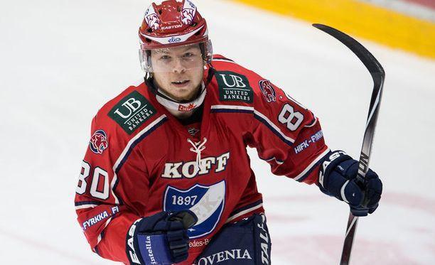 Thomas Nykoppin ura jatkuu HIFK:ssa.