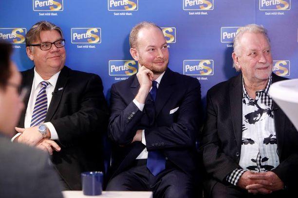 Perussuomalaisten europarlamentaarikko Sampo Terho (kesk.) ilmoitti lähtevänsä eduskuntavaaliehdokkaaksi.