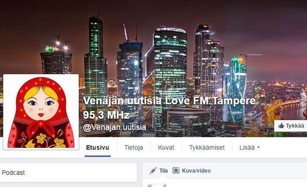 Love FM lähettää tällä hetkellä Venäjän uutisia Tampereen taajuudellaan. Radio toimii myös sosiaalisessa mediassa, jossa samat uutiset toistuvat.