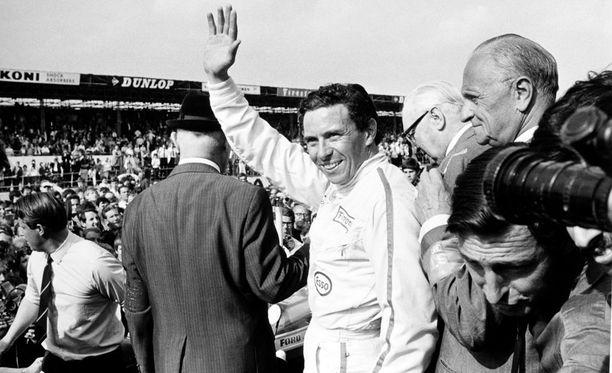 Kaksinkertainen F1-maailmanmestari Jim Clark oli oman aikakautensa paras kuljettaja.