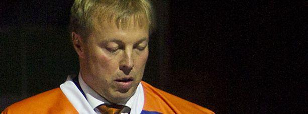 Janne Ojanen joutui pettymään omiensa panokseen.