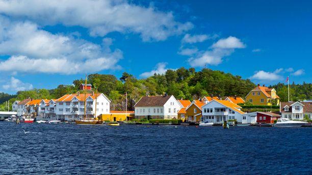 Arne Torgersen katosi lähellä Mandalin kaupunkia Norjassa 1955.