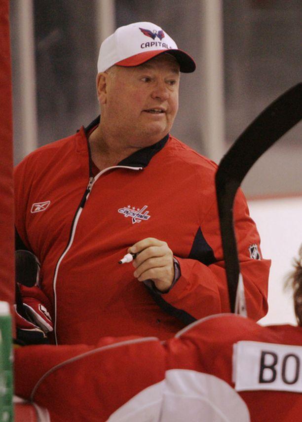 Bruce Boudreau luottaa Sami Lepistön osaamiseen.