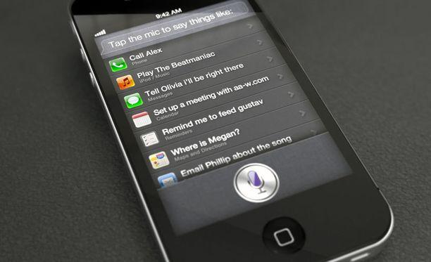 Siri on Applen tekoälynomainen, puheohjattu apuohjelma.