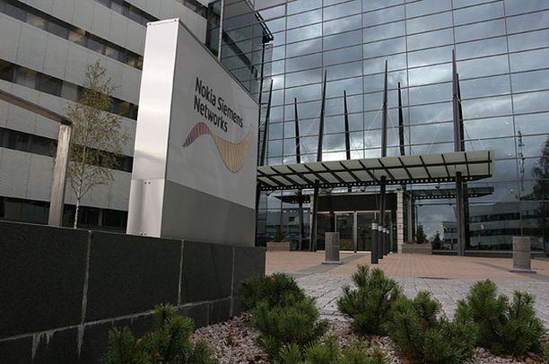 Nokia Siemens Networks aloittaa yt-neuvottelut. Kuvassa yhtiön pääkonttori Espoossa.