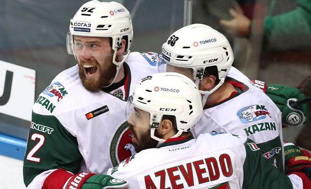 Atte Ohtamaa ja Kazan voittivat sensaatiomaisen KHL-mestaruuden!