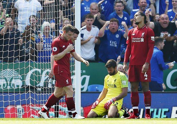Liverpool päästi Valioliiga-kauden ensimmäisen maalinsa.