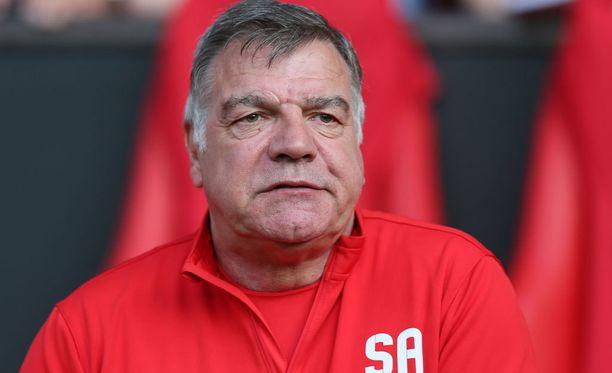 Sam Allardyce siirtyy Englannin päävalmentajaksi Sunderlandin managerin paikalta.