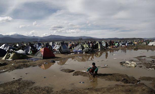 Salakuljettajien reitti kulki Turkista Pohjoismaihin. Kuvituskuva.
