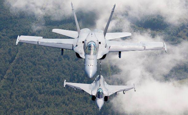 Suomen Hornetit osallistuvat syyskuun alussa isoon harjoitukseen Ruotsissa.