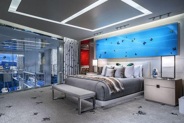Tämä on makuuhuone.