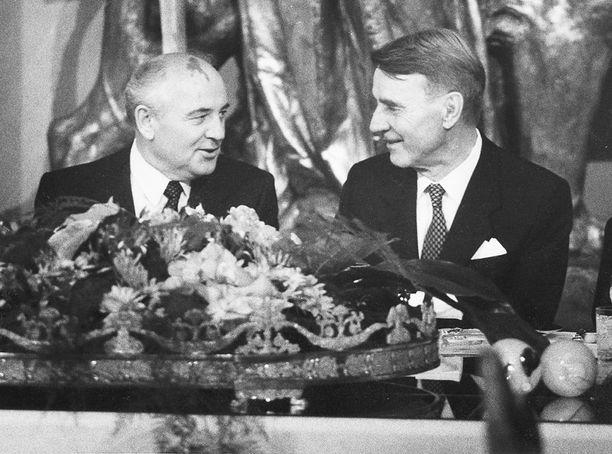 Mihail Gorbatshov ja Mauno Koivisto.