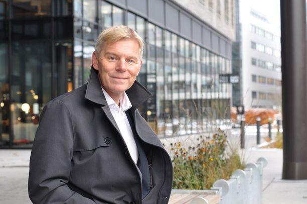 Instabankin toimitusjohtaja Robert Berg.