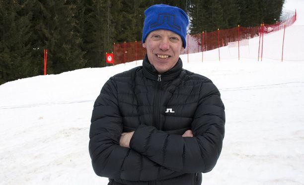 Jari Isometsä oli vuodenvaihteessa työmatkalla Tour de Skillä.