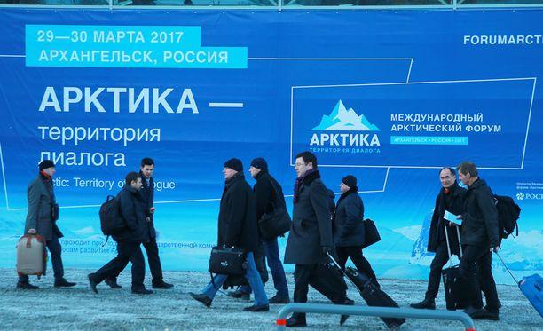 Venäjän Arkangelissa alkaa tänään Arktinen foorumi.