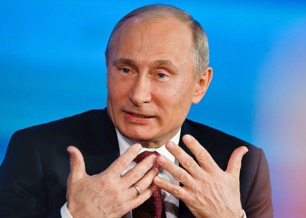 Venäjän presidentti on päätynyt toiseenkin poliisin rekisteriin.