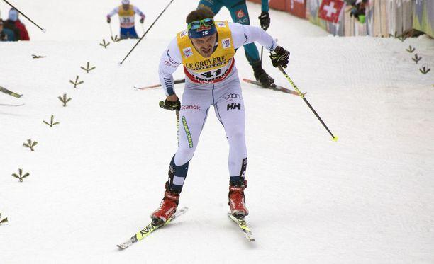 Antti Ojansivu oli 35:s Tour de Skillä.