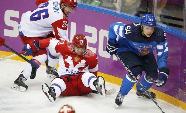 Mikael Granlund on kiusannut Venäjää useaan otteeseen.