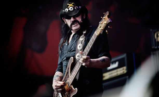 Lemmy Kilmisterin johtama Motörhead vieraili Suomessa kymmeniä kertoja.