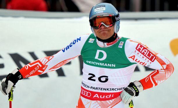 Minä talvena Kalle Palander voitti pujottelun maailmancupin?