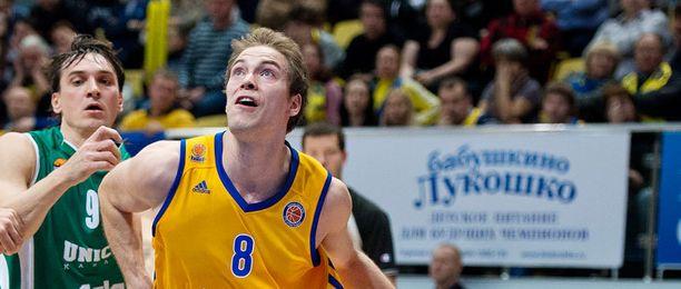 Petteri Koposen edustama Himki kuuluu eurooppalaisten suurseurojen joukkoon.