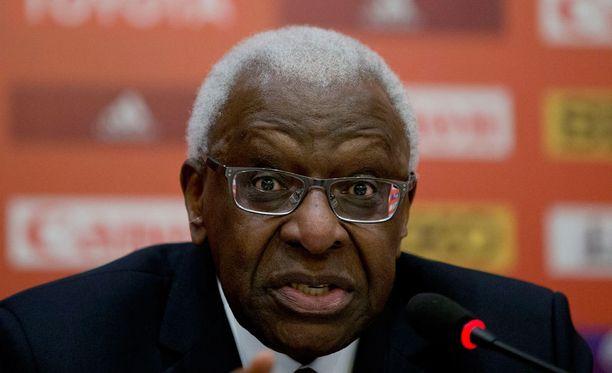 Lamine Diackin väitetään pyytäneen lahjuksia vuoden 2020 olympiahaun yhteydessä.