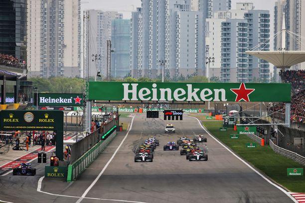 Kiinan GP on tarkoitus ajaa huhtikuussa.