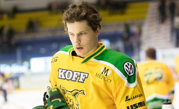 Otto Koivula sai NHL-sopimuksen.